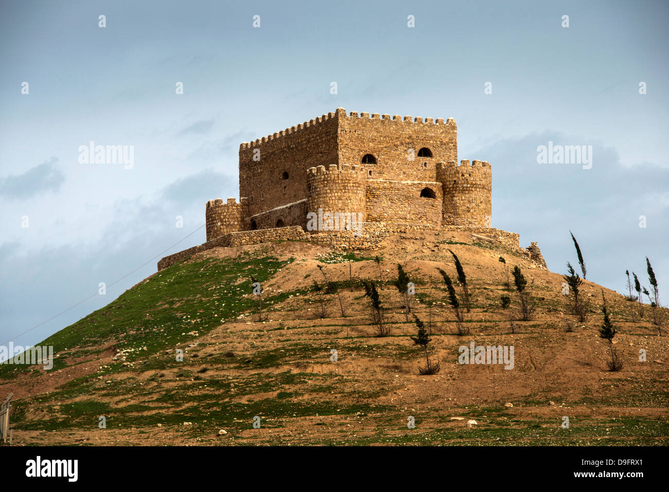 Castle Khanzad, Iraq Kurdistan, Iraq, Middle East - Stock Image
