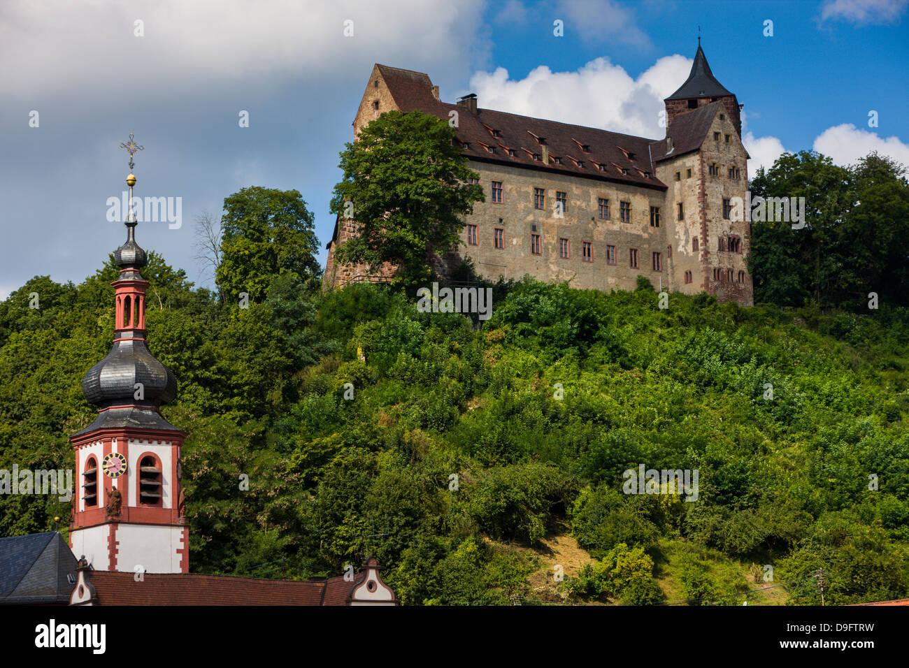 Main valley, Franconia, Bavaria, Germany Stock Photo