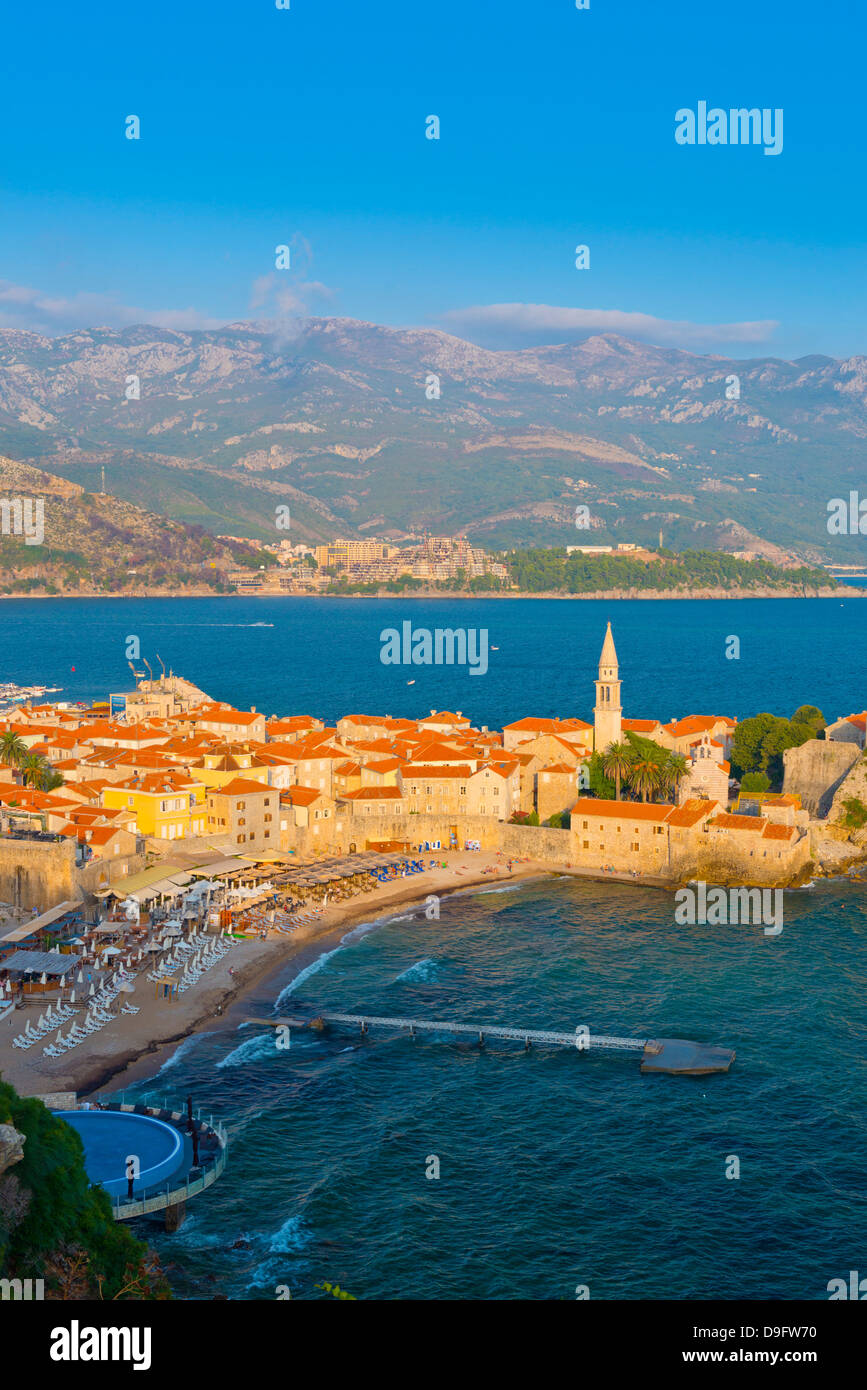 Old Town (Stari Grad), Budva, Montenegro Stock Photo