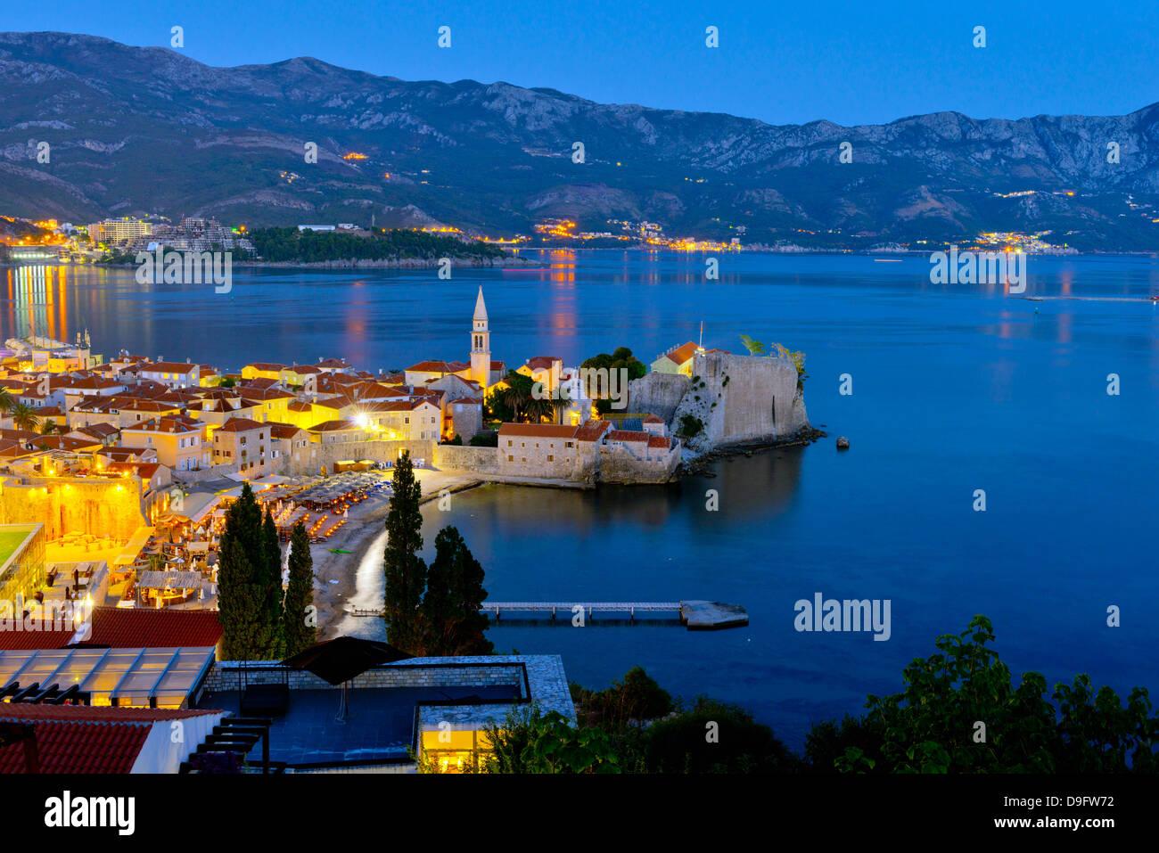 Old Town (Stari Grad), Budva, Montenegro Stock Photo