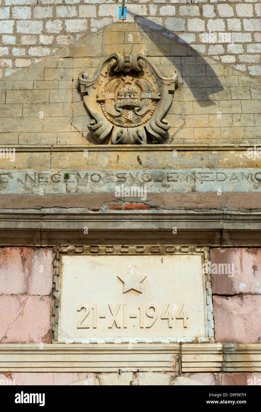 Old Town Gate, Old Town (Stari Grad), Kotor, Bay of Kotor, UNESCO World Heritage Site, Montenegro - Stock Image
