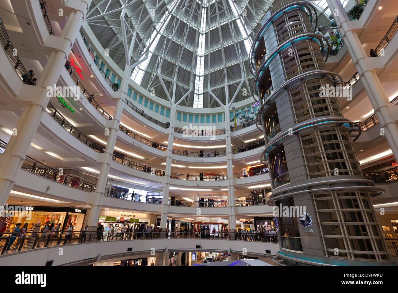 Suria KLCC shopping mall next to the Petronas Towers, Kuala Lumpur, Malaysia, Southeast Asia - Stock Image
