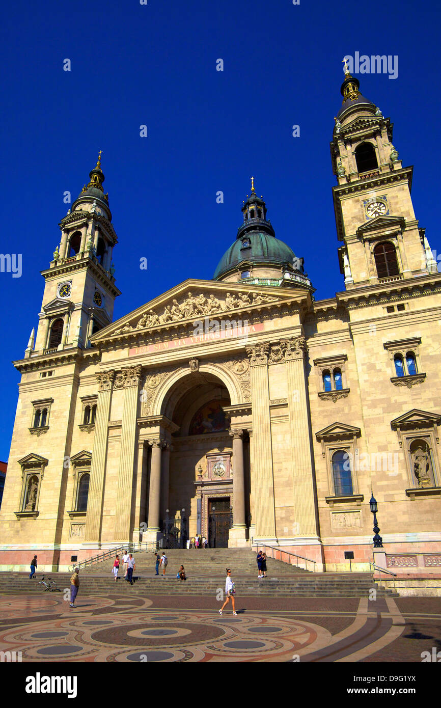 St Stephen's Basilica, Budapest, Hungary, East Central Europe - Stock Image