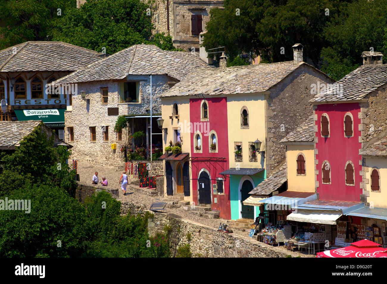 Mostar, Bosnia, Bosnia-Herzegovina - Stock Image