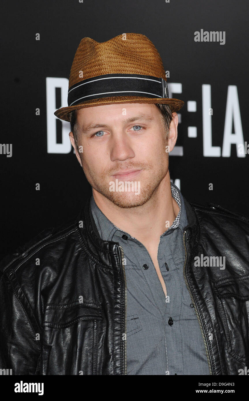 Ross Thomas  'Battle: Los Angeles' Los Angeles Premiere held At Regency Village Theatre Westwood, California - Stock Image