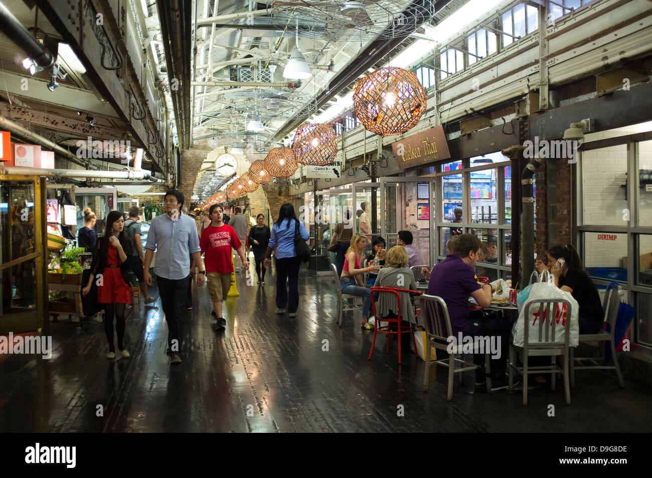 Chelsea Market Manhattan New York Stock Photo 57520890