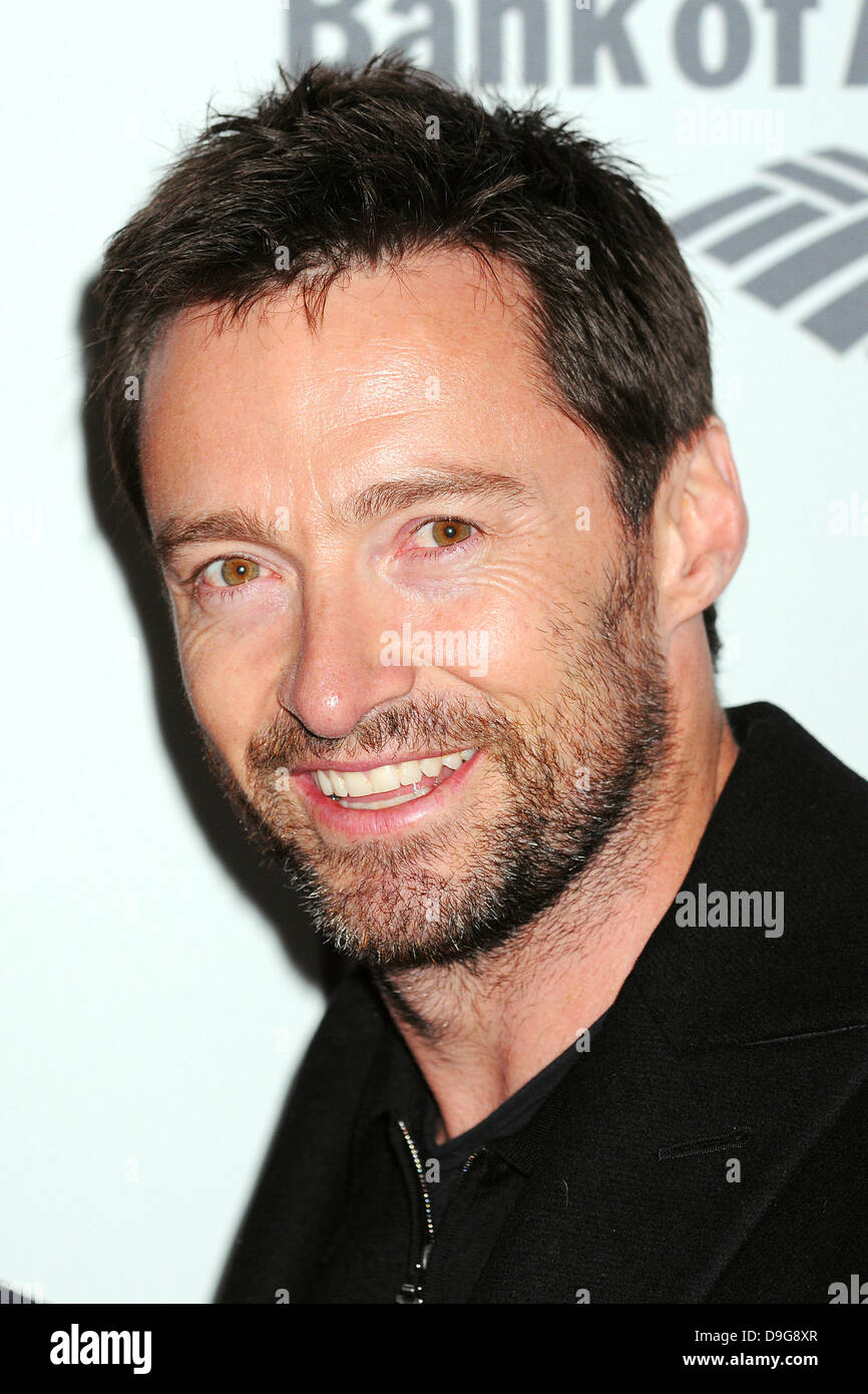 Hugh Jackman  The BAM Theater Gala at the Brooklyn Academy of Music New York City, USA - 10.03.11 - Stock Image