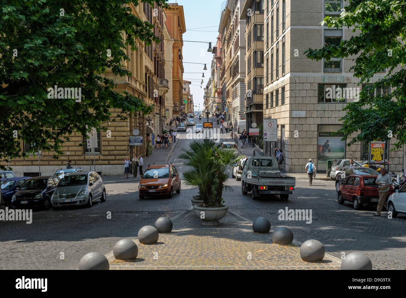 Rome City Centre 'Via Urbana' - Stock Image