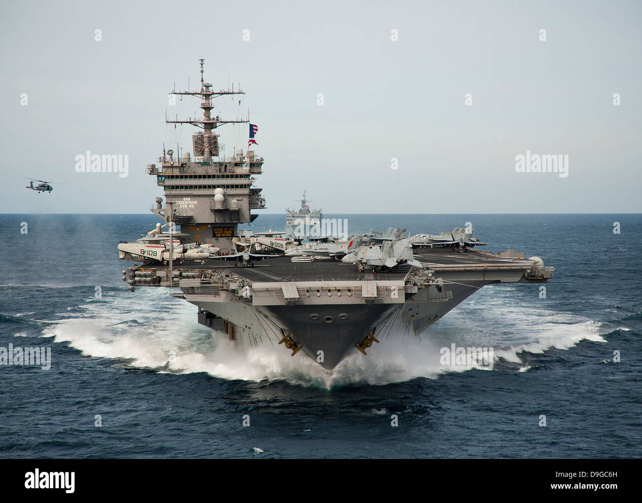 Uss Enterprise Cvn 65 Stock Photos & Uss Enterprise Cvn 65 ...