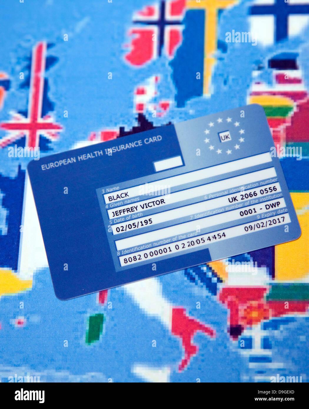health insurance london  European Union Health Insurance Card (EHIC), London Stock Photo ...