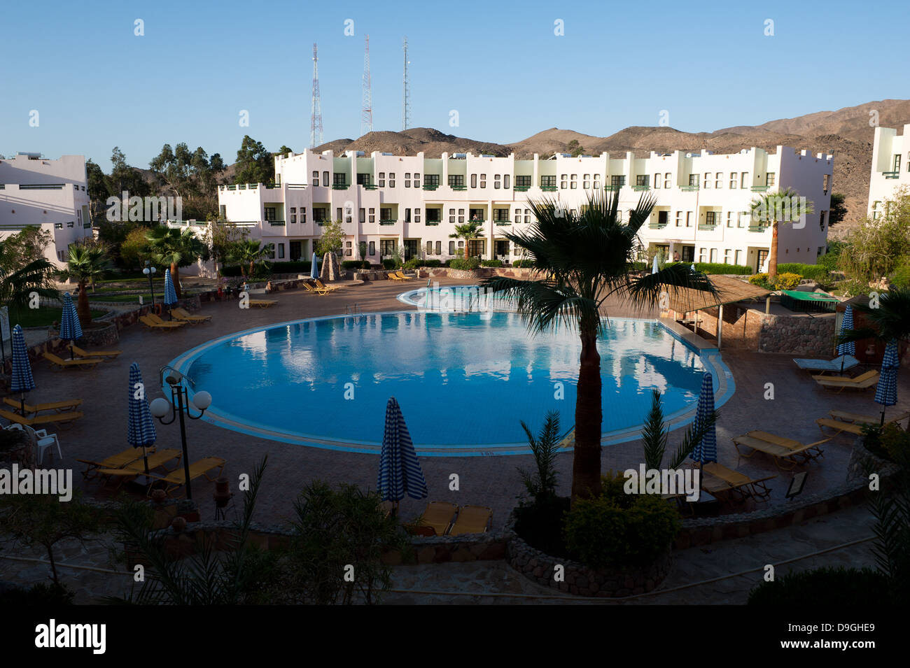 Sol y Mar Hotel, Taba, South Sinai, Egypt - Stock Image