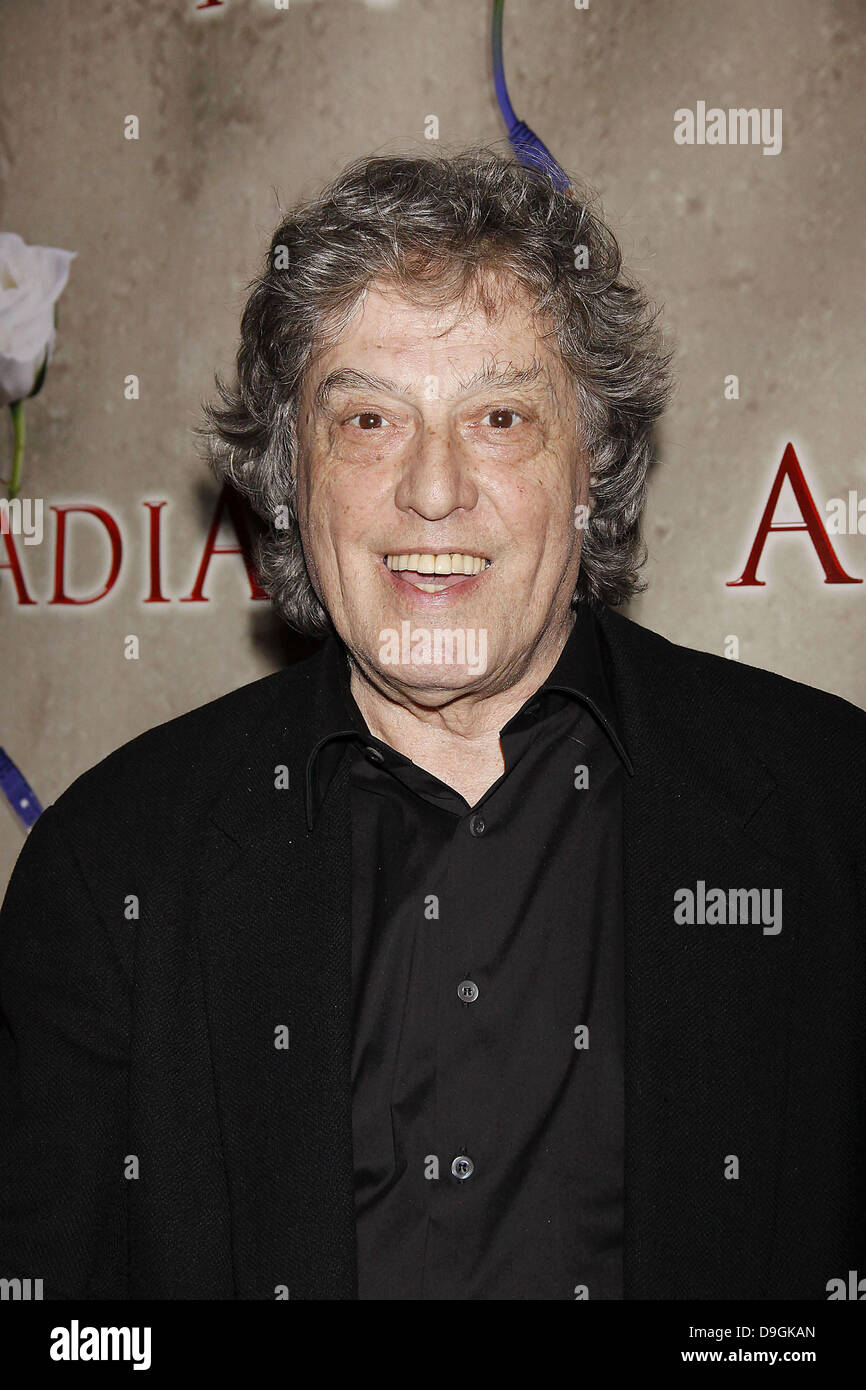 Tom Stoppard  Opening night after party for the Broadway production of 'Tom Stoppard's Arcadia' held - Stock Image