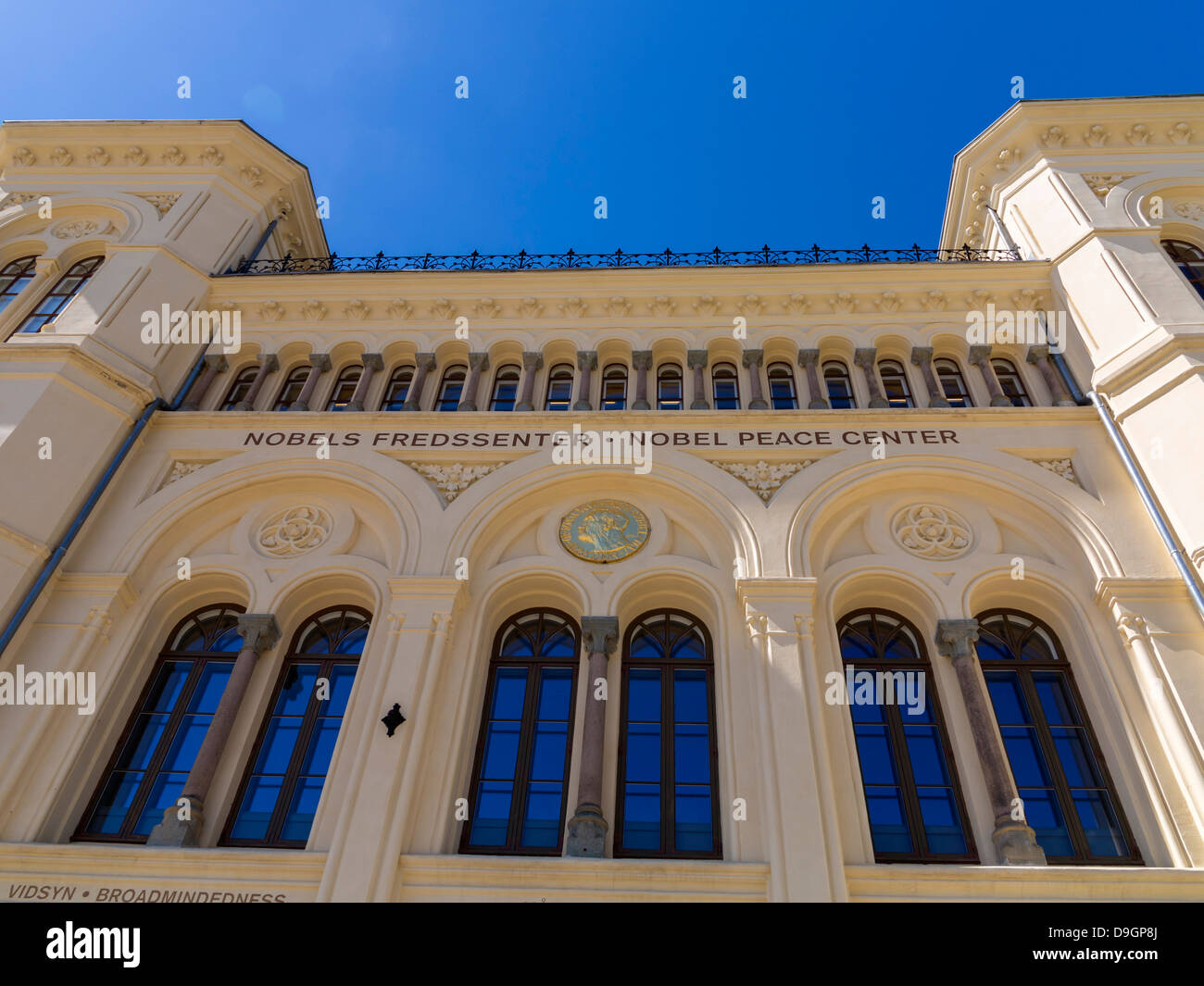 The Nobel Peace Centre in Oslo, Norway, Europe - Stock Image