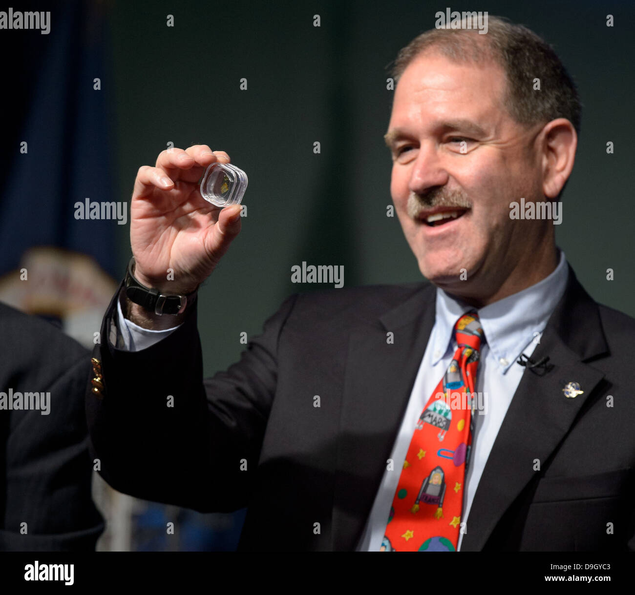 Asteroid Initiative Industry and Partner Day (201306180007HQ) - Stock Image