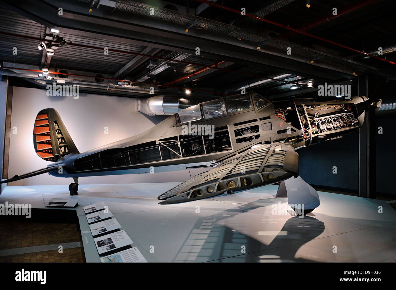 Deutsches Technik Museum. Berlin, Germany - Stock Image