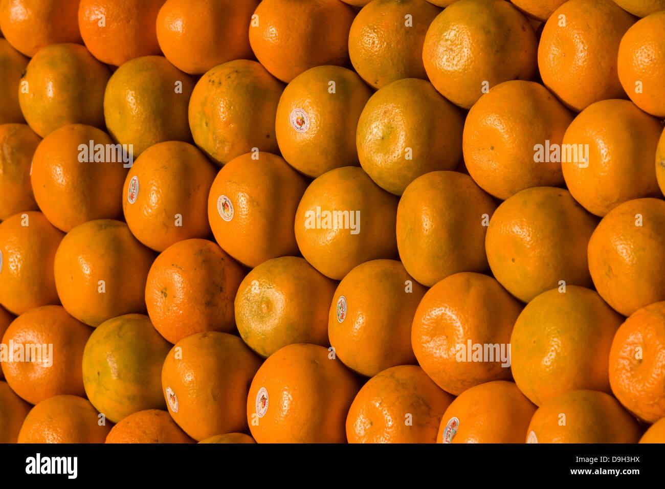 Asien, Indien, Karnataka, Mysore, Mandarinen Stock Photo