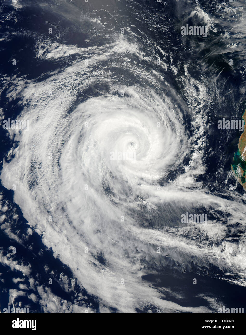 Tropical Cyclone Dianne - Stock Image