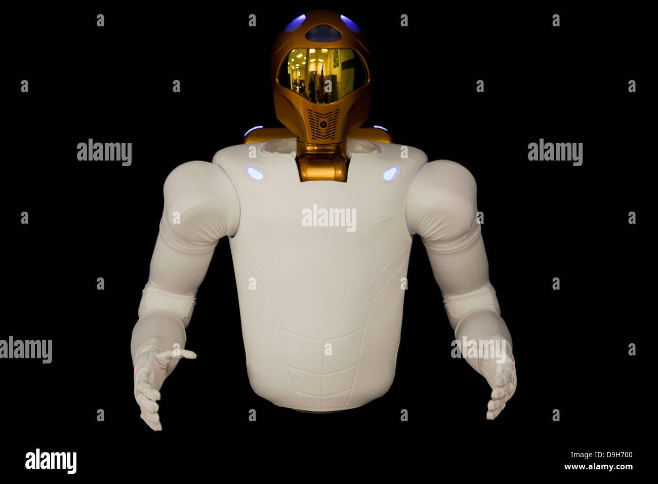 Robonaut 2, a dexterous, humanoid astronaut helper. - Stock Image