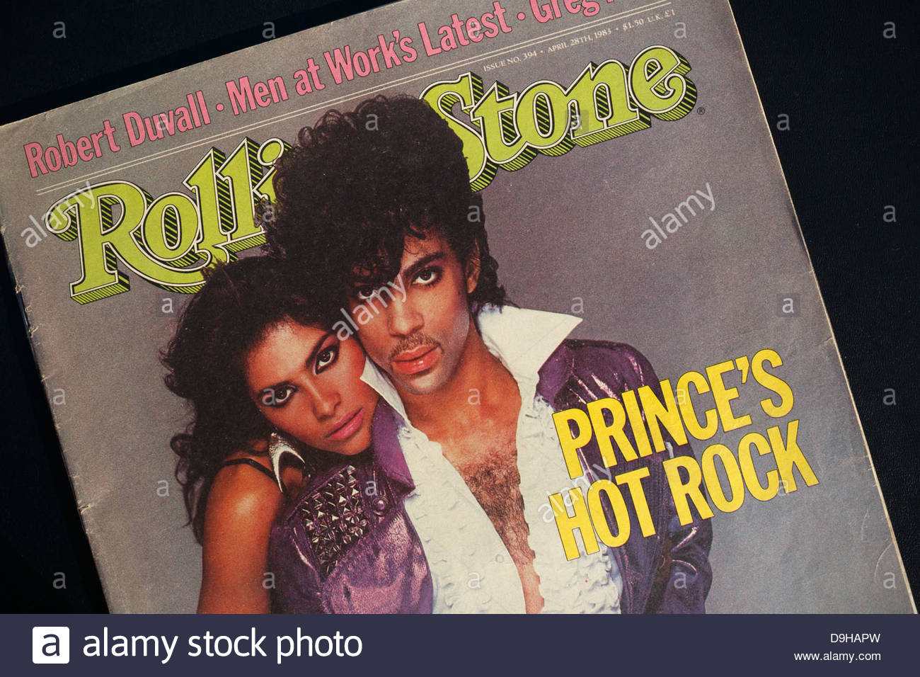 Rolling Stone magazine cover with Prince and Vanity