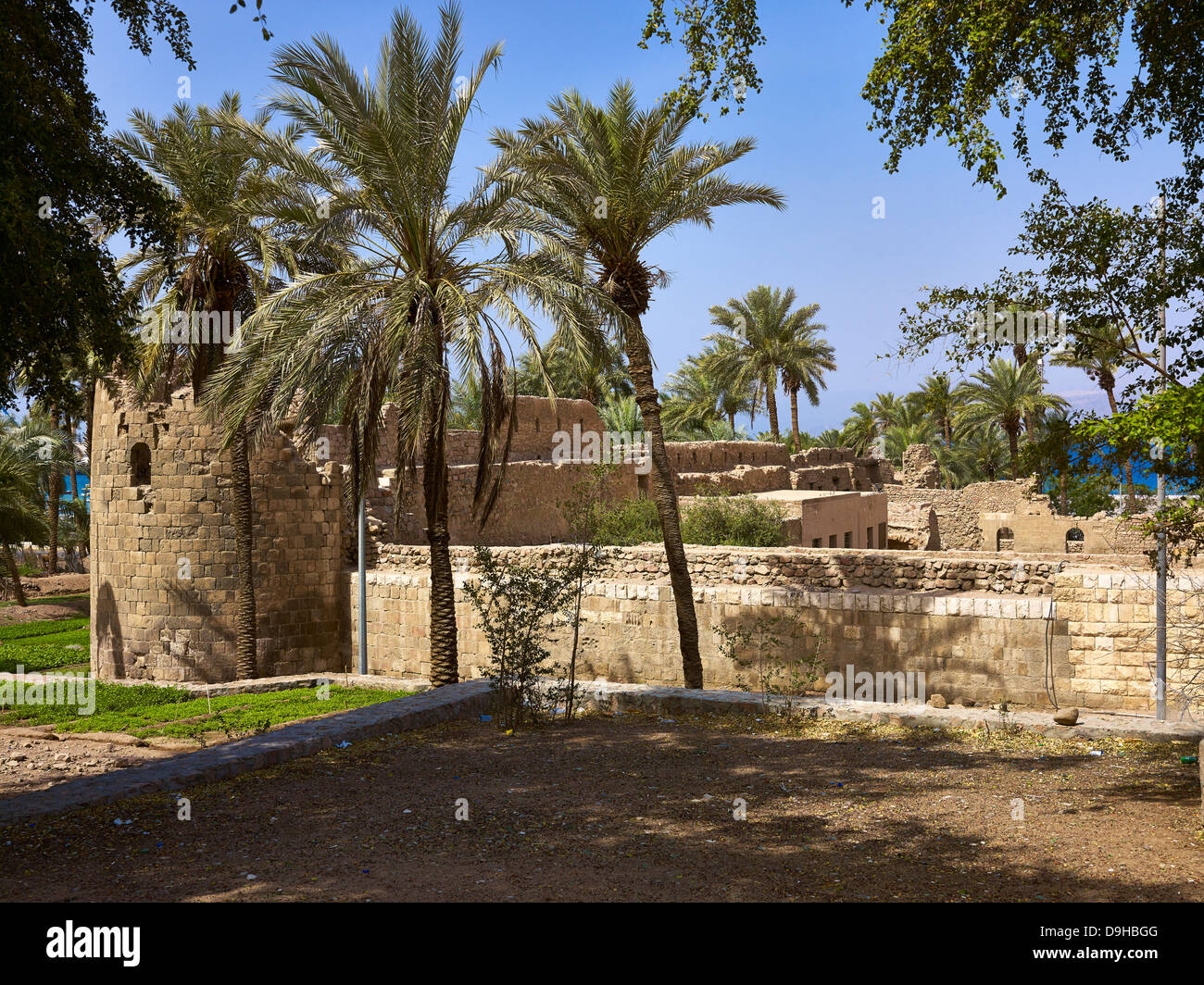 Fortress in Aqaba, Jordan, Middle East - Stock Image
