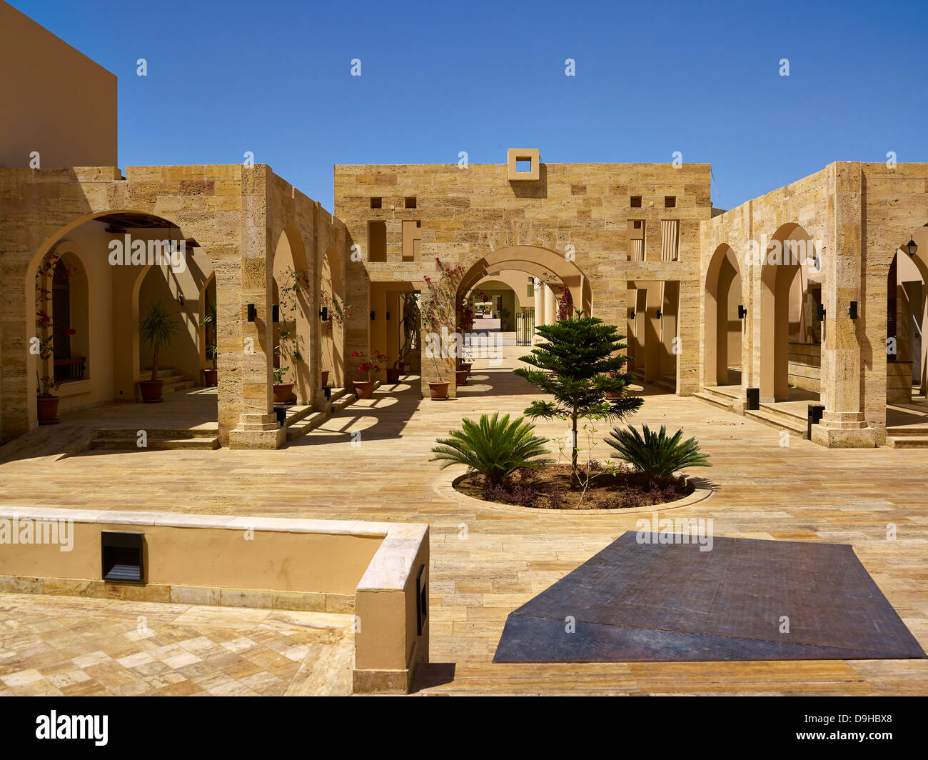 Yacht Club at Tala Bay in Aqaba, Jordan, Middle East - Stock Image