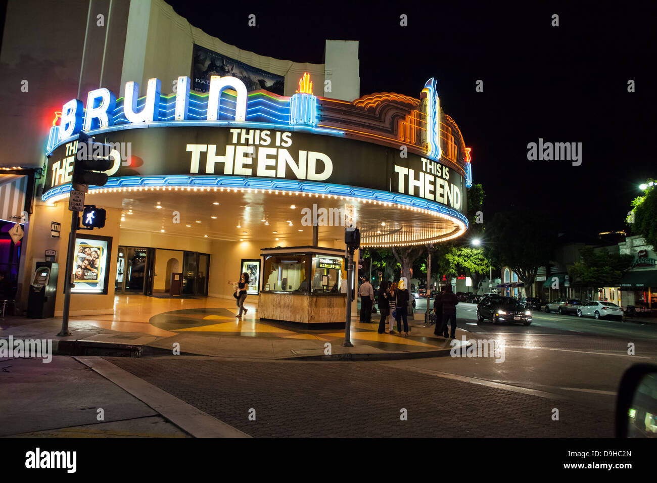 The Bruin Theater In Westwood Los Angeles California Playing The Stock Photo Alamy