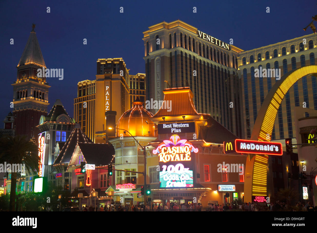 Nevada Las Vegas The Strip South Las Vegas Boulevard