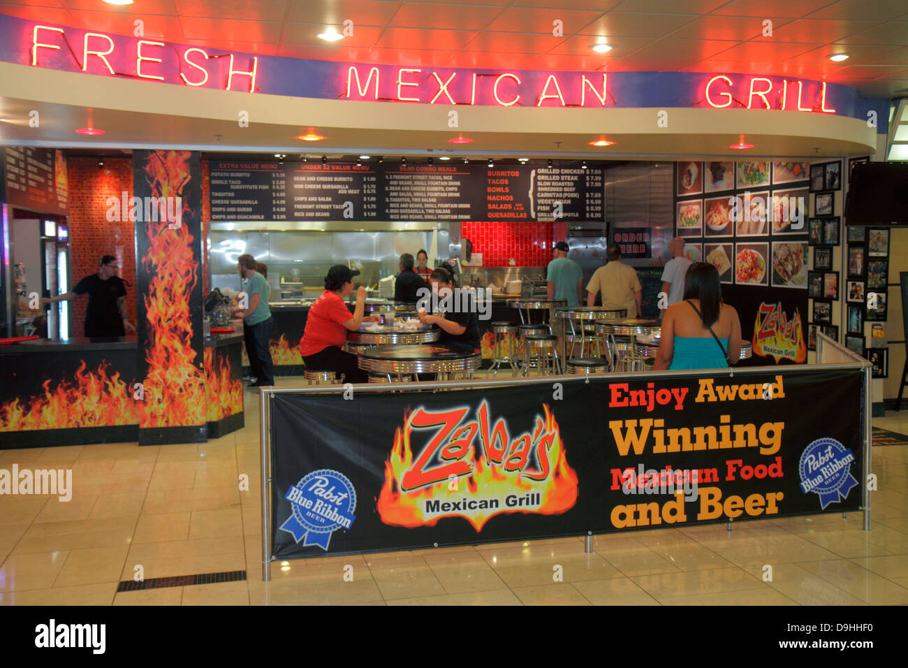Mexican Grill Food Court