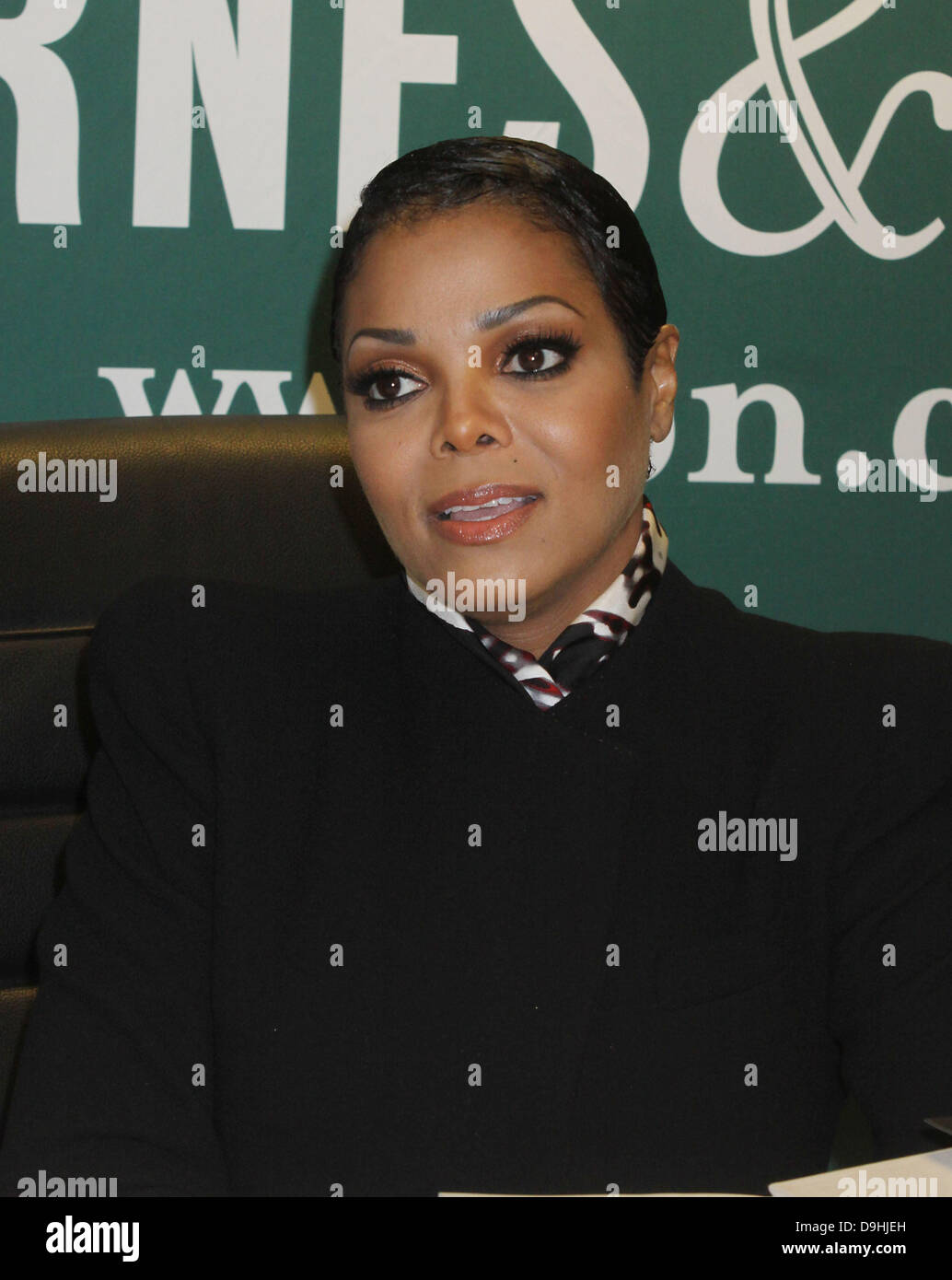 Janet Jackson attends a book signing for 'True You: A Guide