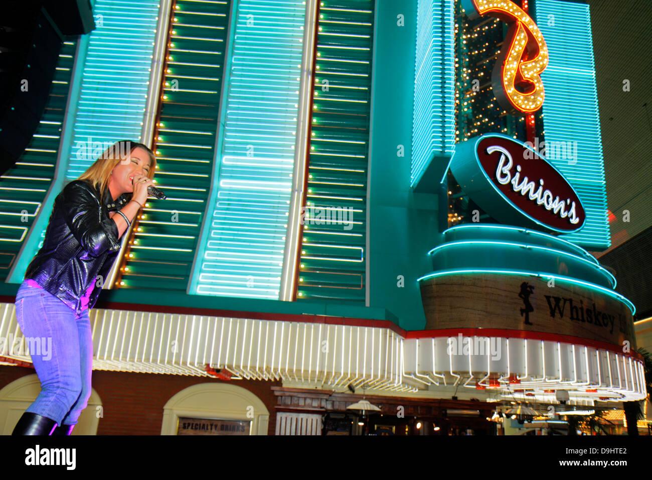 Nevada Las Vegas Downtown Fremont Street Experience pedestrian mall ...