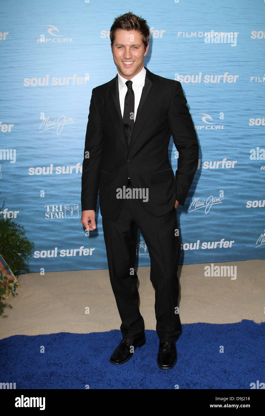 Ross Thomas 'Soul Surfer' Los Angeles Premiere Held At the ArcLight Cinerama Dome Hollywood, California - Stock Image
