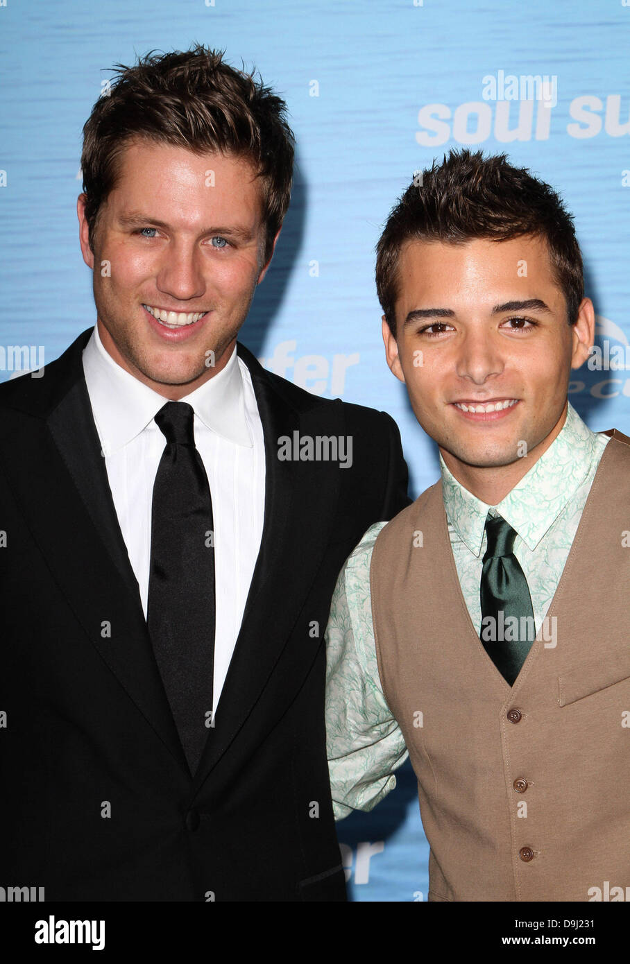 Ross Thomas, Cody Gomes 'Soul Surfer' Los Angeles Premiere Held At the ArcLight Cinerama Dome Hollywood, - Stock Image