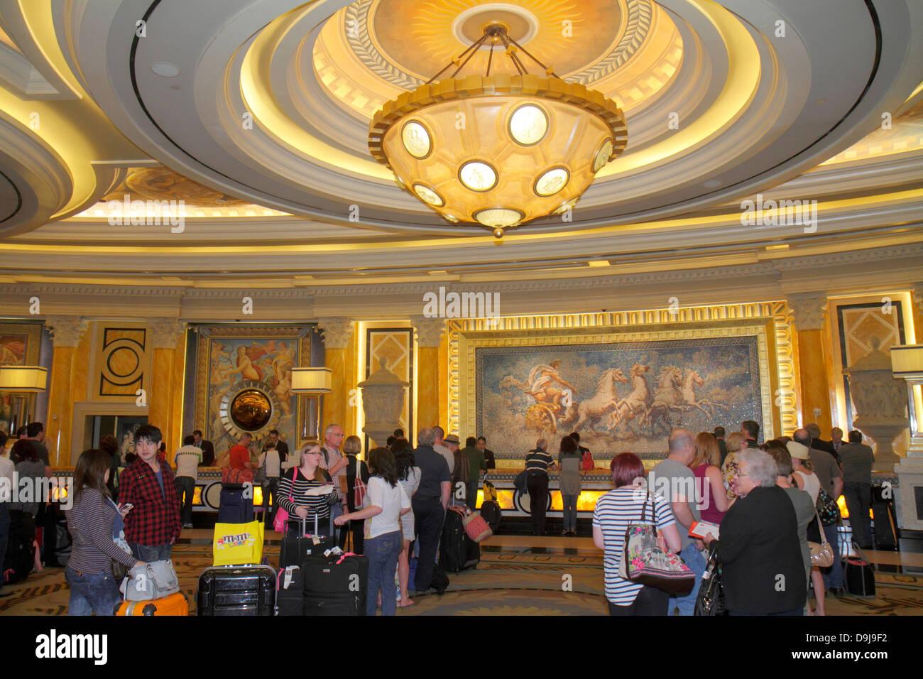 Nevada Las Vegas The Strip South Las Vegas Boulevard Caesars Palace Las  Vegas Hotel U0026 Casino Lobby Front Desk Check In Line Queu Great Ideas