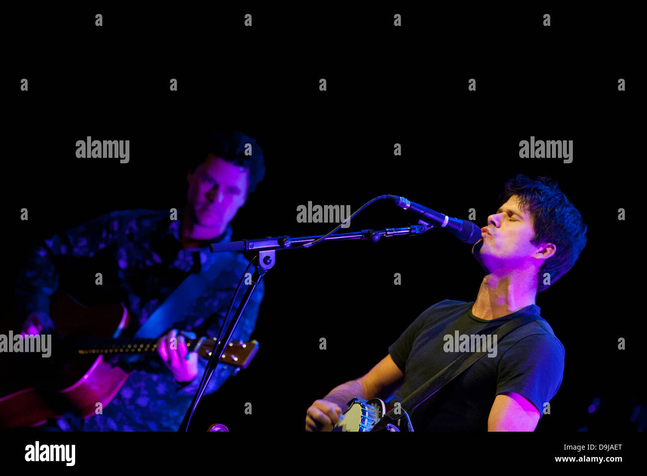 Seth Lakeman performs at the Marlowe Theater, Canterbury, for the Canterbury Festival - Stock Image