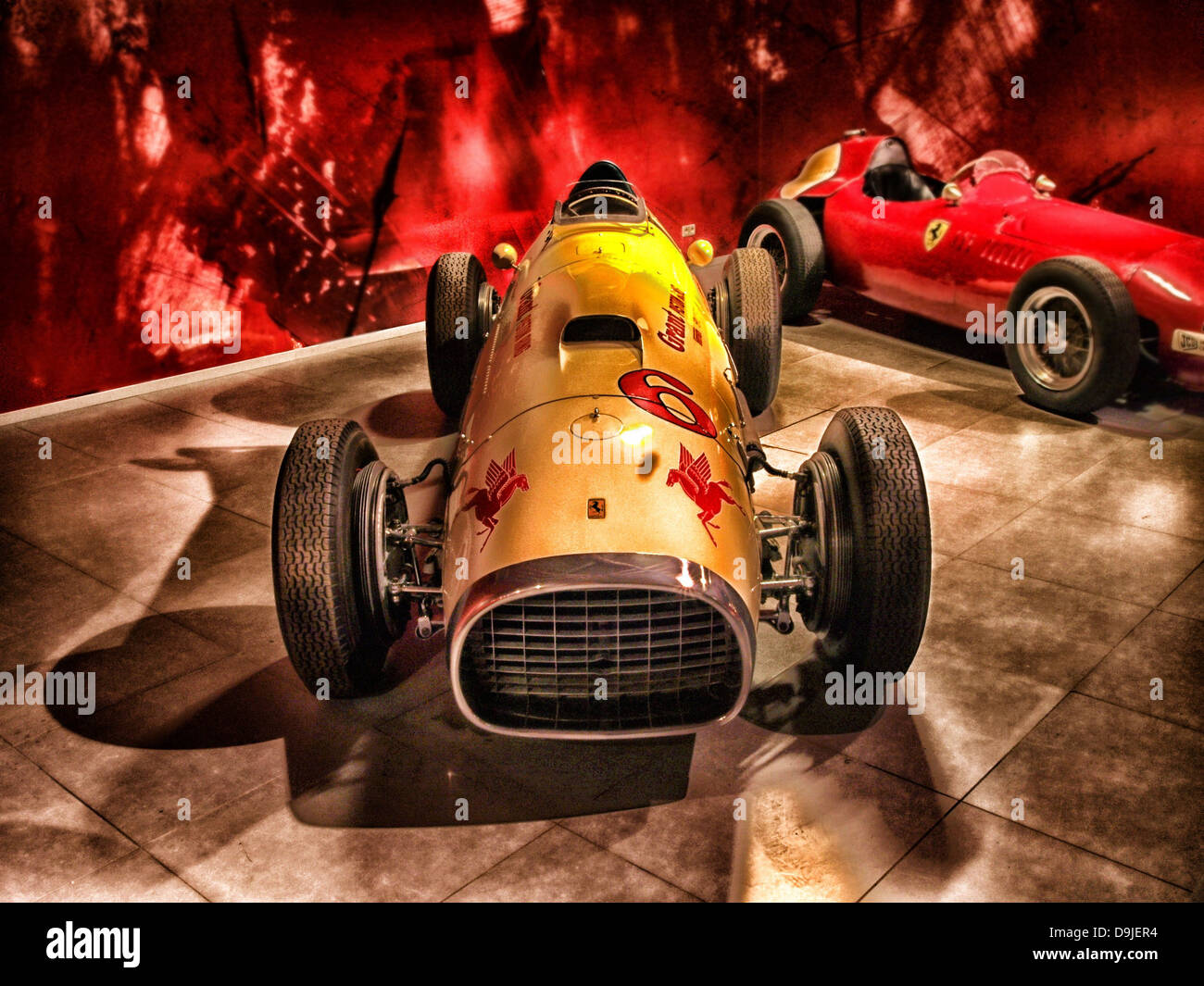 ferrari 1952 racing racer sports car car - Stock Image