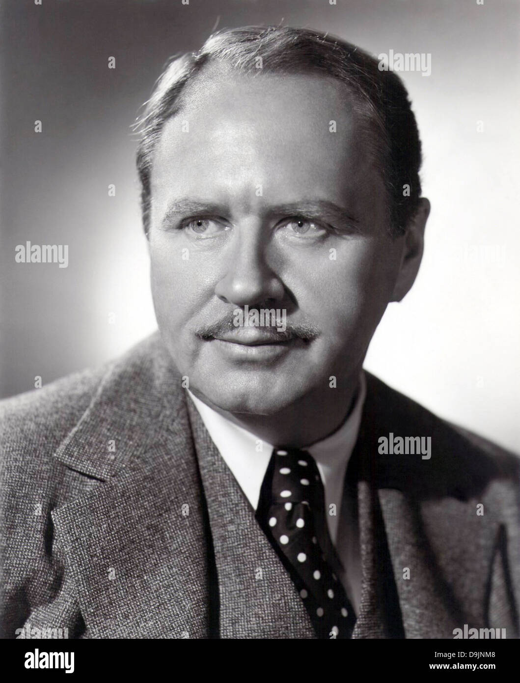 HOWARD FREEMAN (1899-1967) US stage and film actor - Stock Image