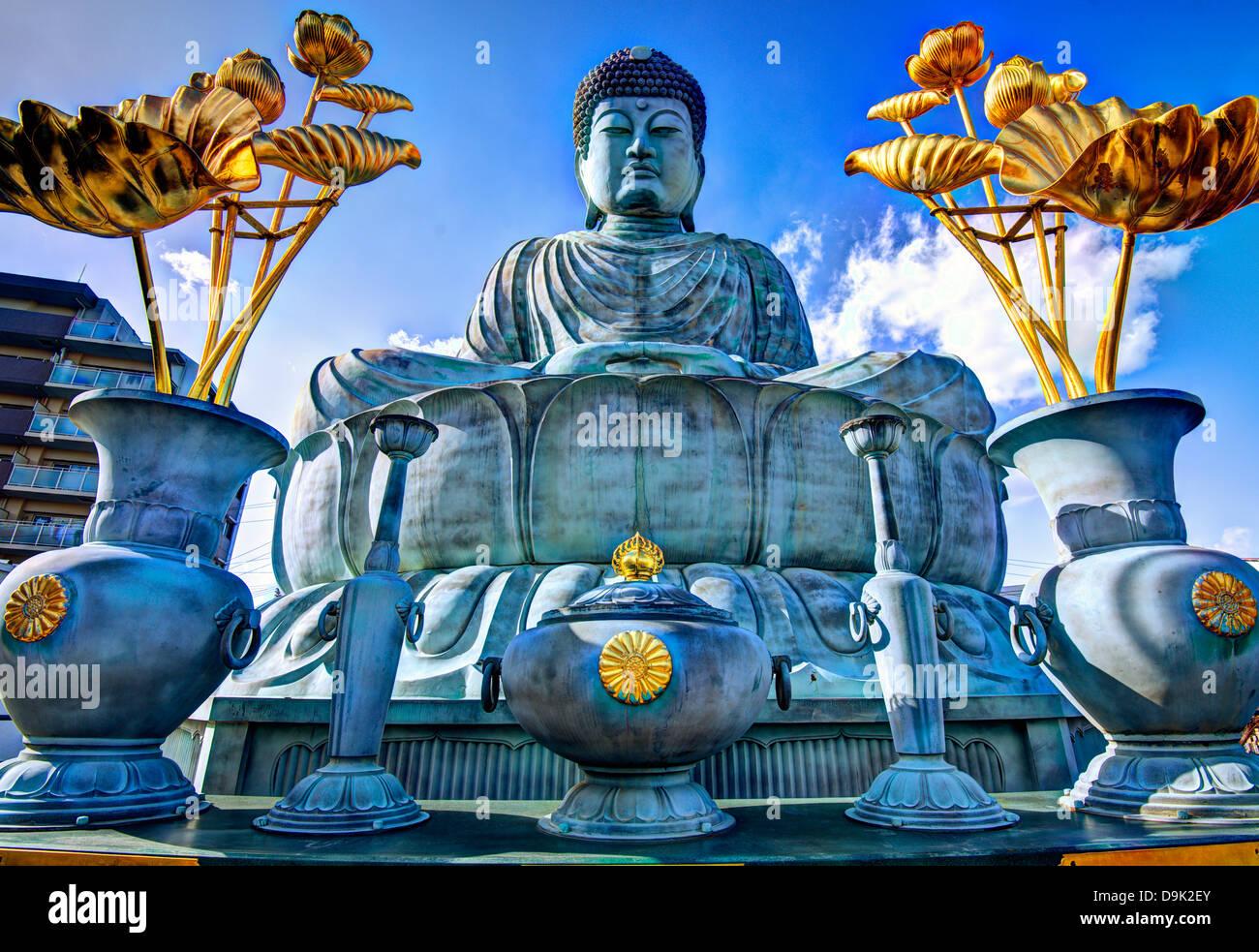 BIg Buddha of Hyogo in Kobe, Japan. - Stock Image