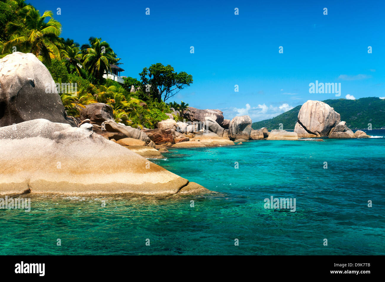 Felicite Island, Seychelles Stock Photo