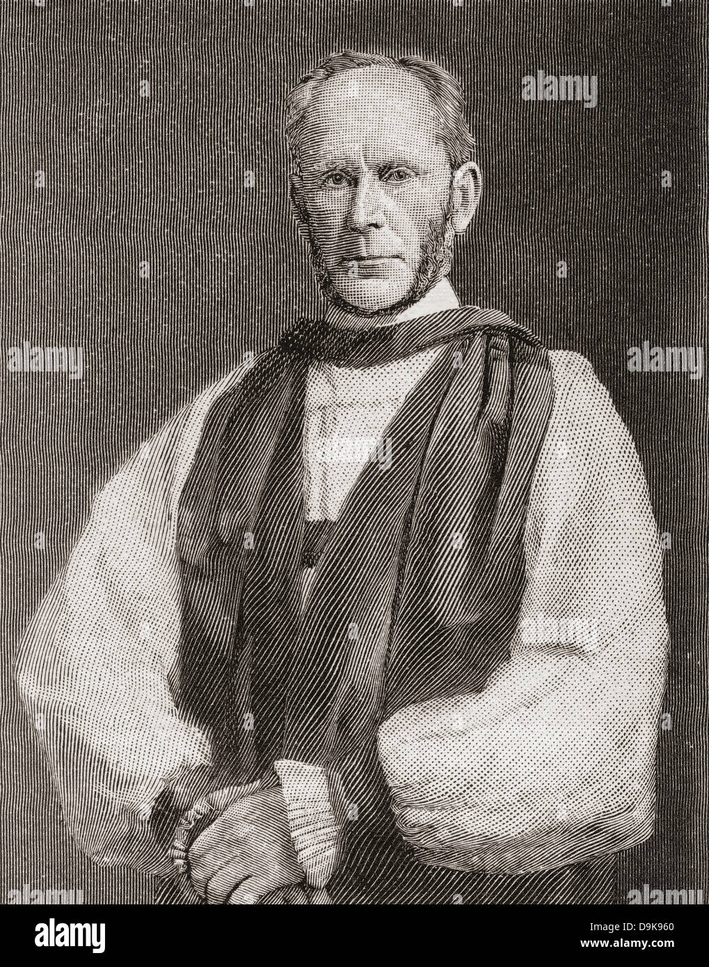 George Forrest Browne, 1833 – 1930. English bishop, the first Anglican Bishop of Stepney and also Bishop of Bristol. - Stock Image