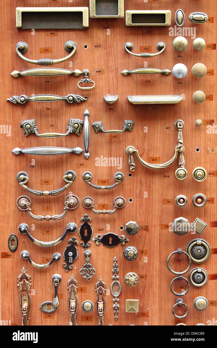 Brass Hardware Stock Photos & Brass Hardware Stock Images