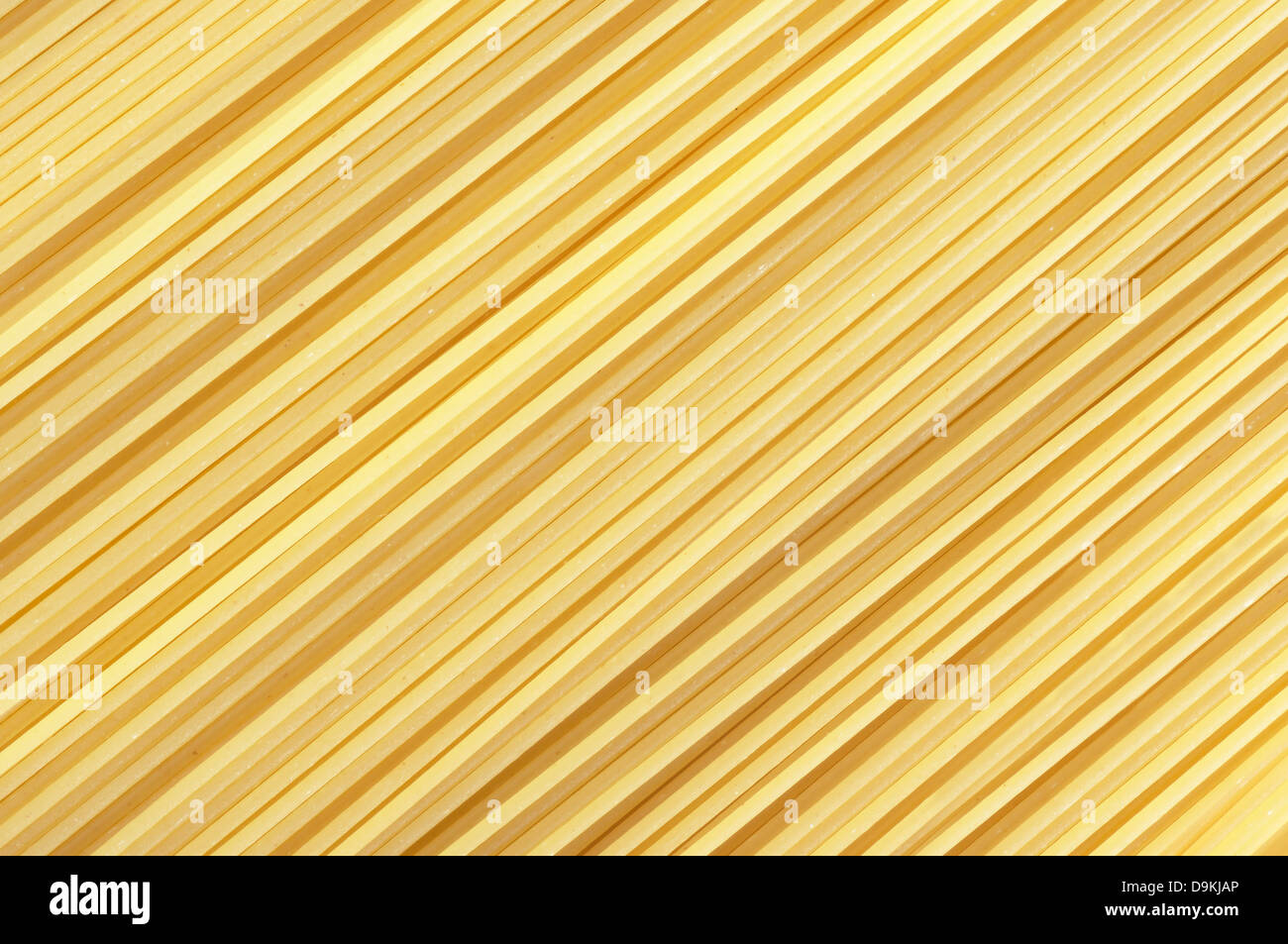 background with closeup of spaguetti pasta - Stock Image