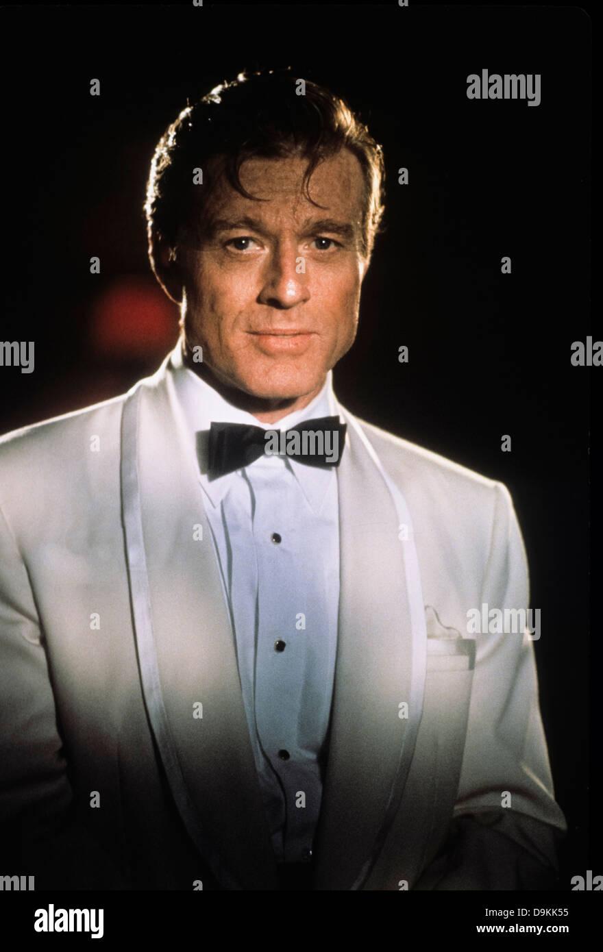 Robert Redford,havana 1990 - Stock Image