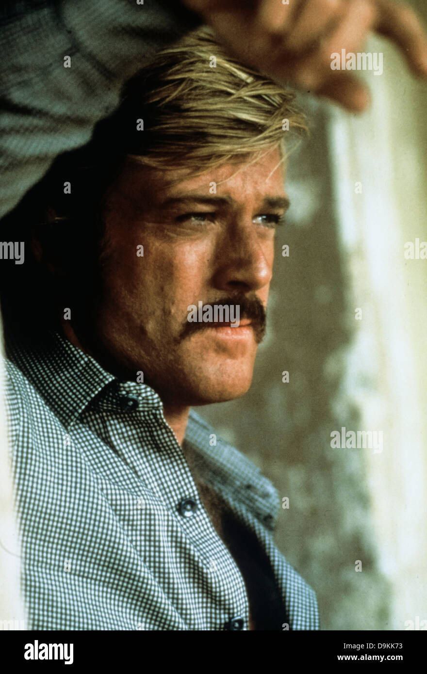 Robert Redford,Butch Cassidy 1969 - Stock Image