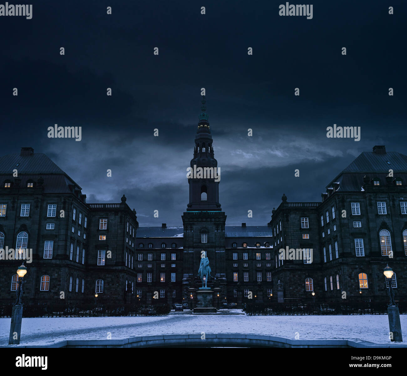 Christiansborg Palace, Copenhagen, Denmark, Europe Stock Photo