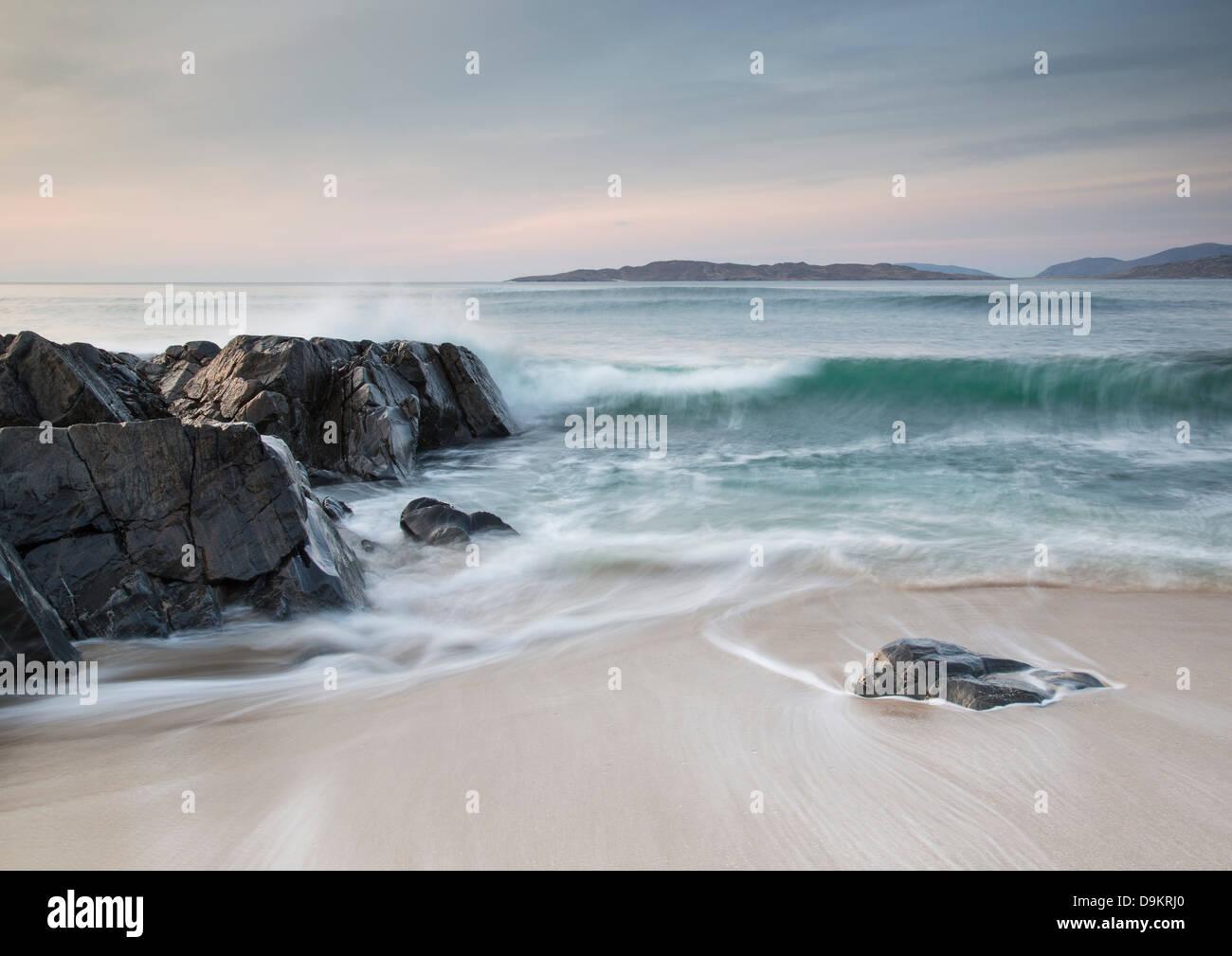 Sound of Taransay, Isle of Harris, Scotland - Stock Image