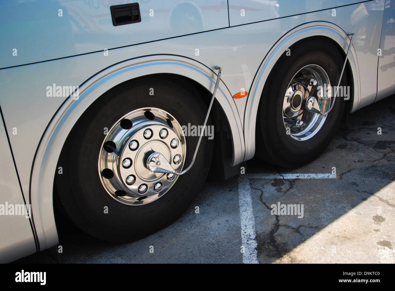 Bus Wheels With Central Tire Inflation System Ctis Stock