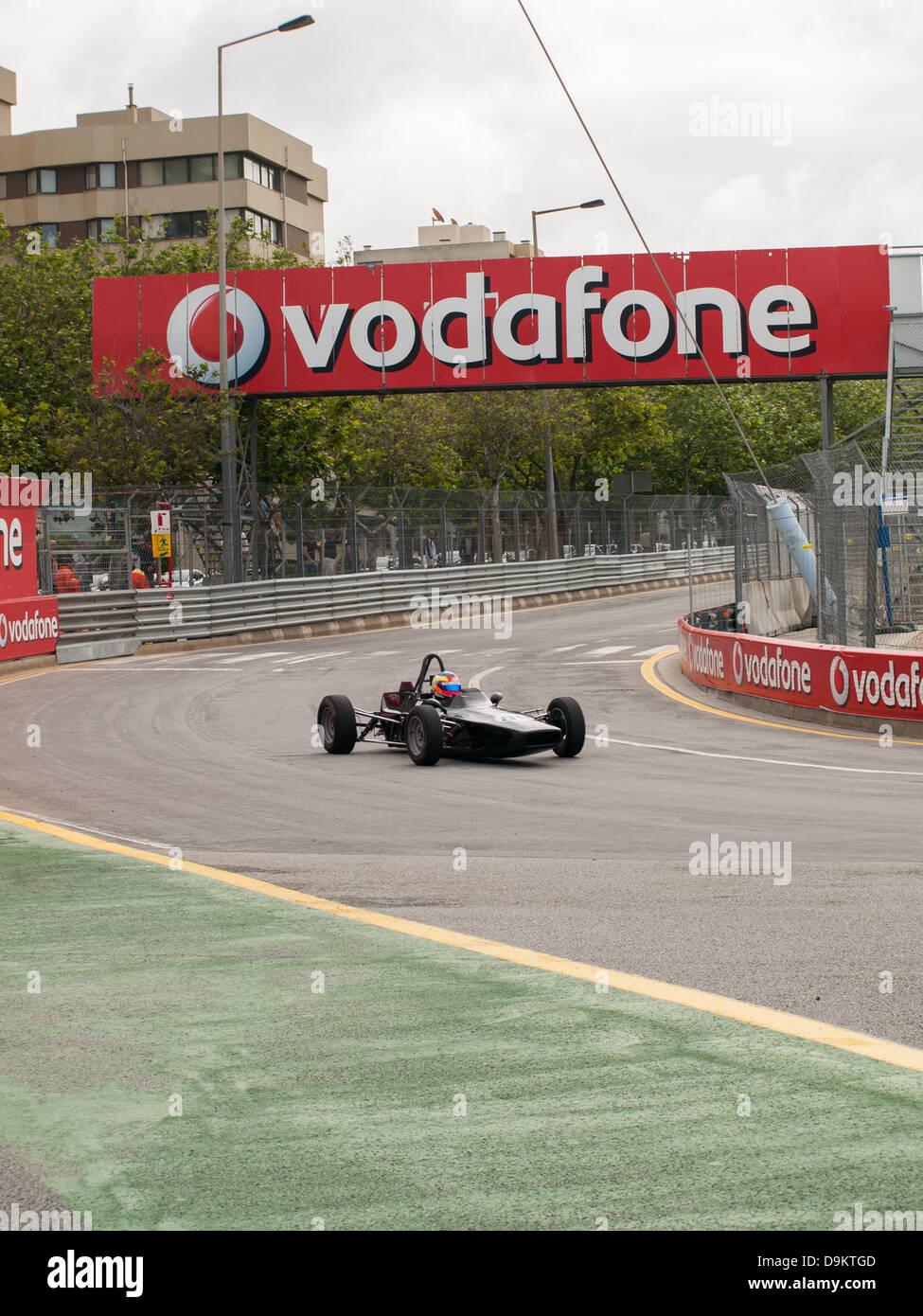 Oporto, Portugal, 21st june 2013, Circuito da Boavista - Historic Grand Prix 2013 - Formule Ford 1 Historic France, - Stock Image