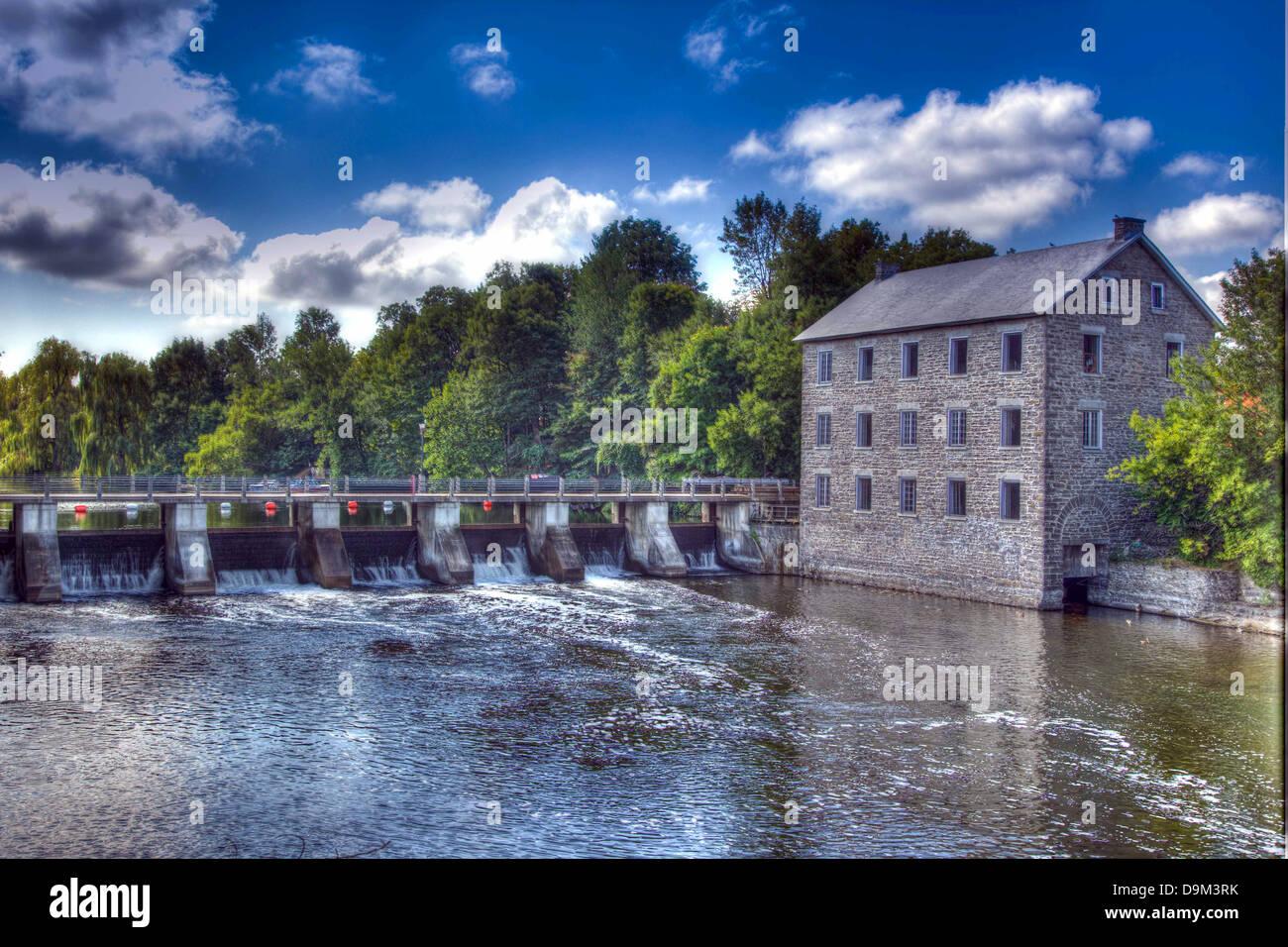 Watson's Grist Mill in Ottawa, Canada - Stock Image