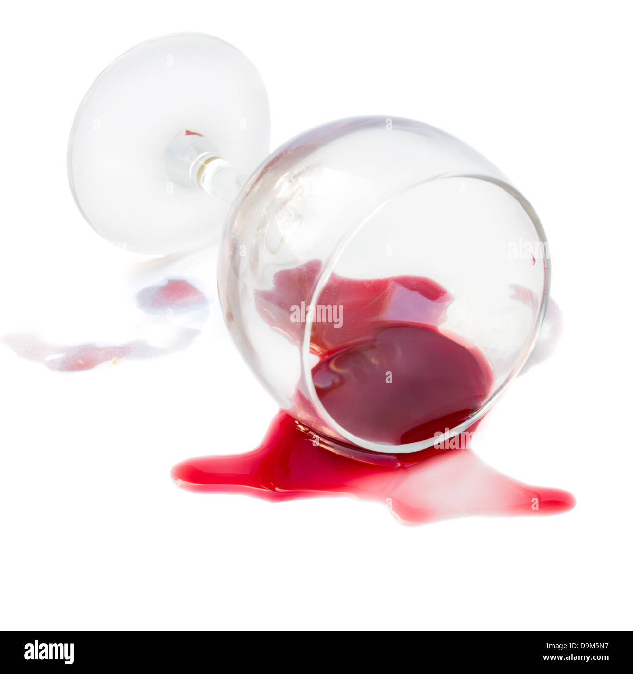 spilled glass of wine stock photo 57606563 alamy