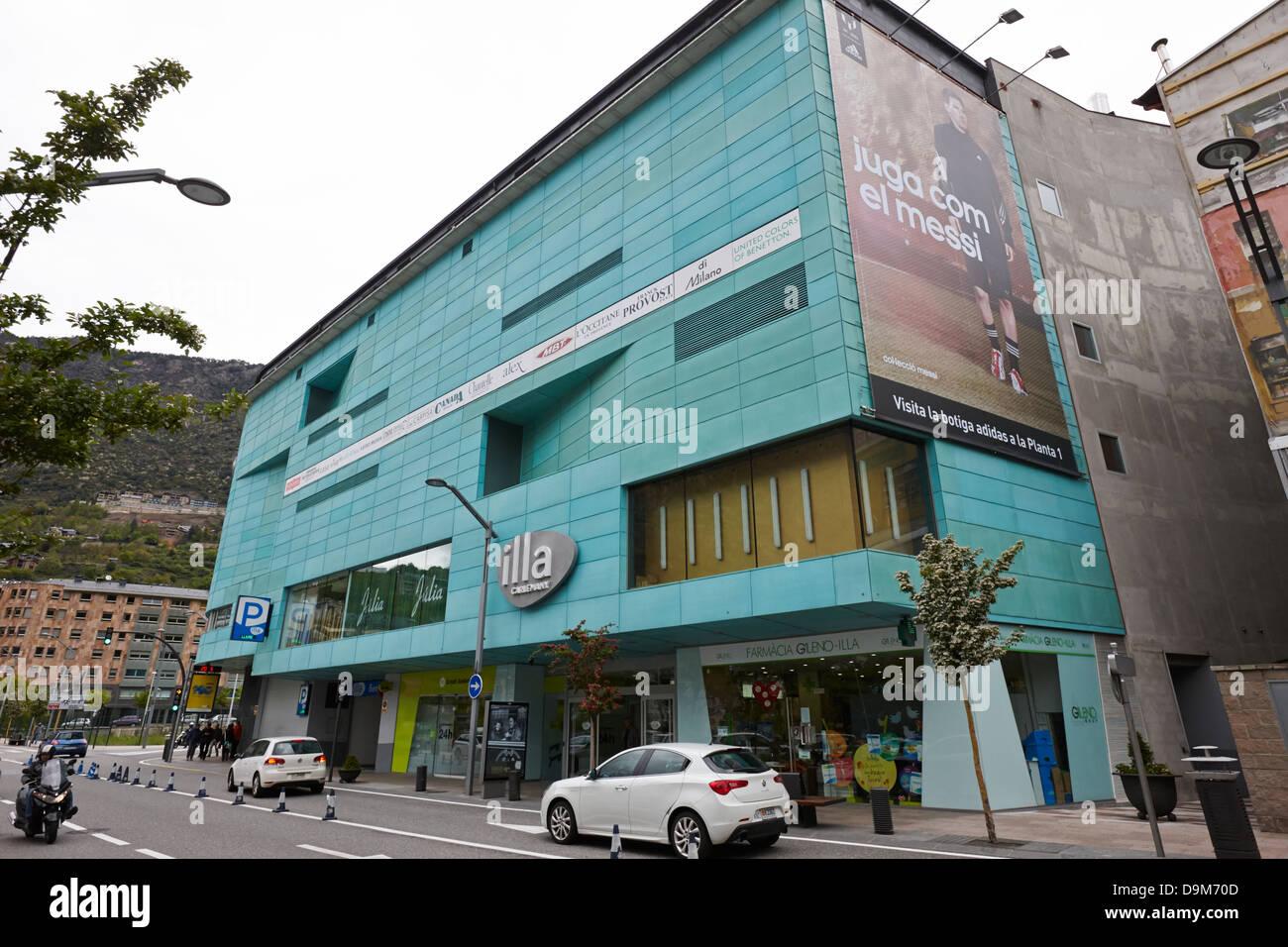 illa carlemany shopping centre in andorra la vella andorra Stock Photo